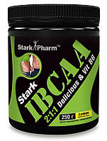 Аминокислоты Stark Pharm - IBCAA delicious 2-1-1 & Vit B6 - (250 грамм) (40 порций)