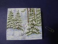 "Картина-миниатюра ""Зима"", фото 1"