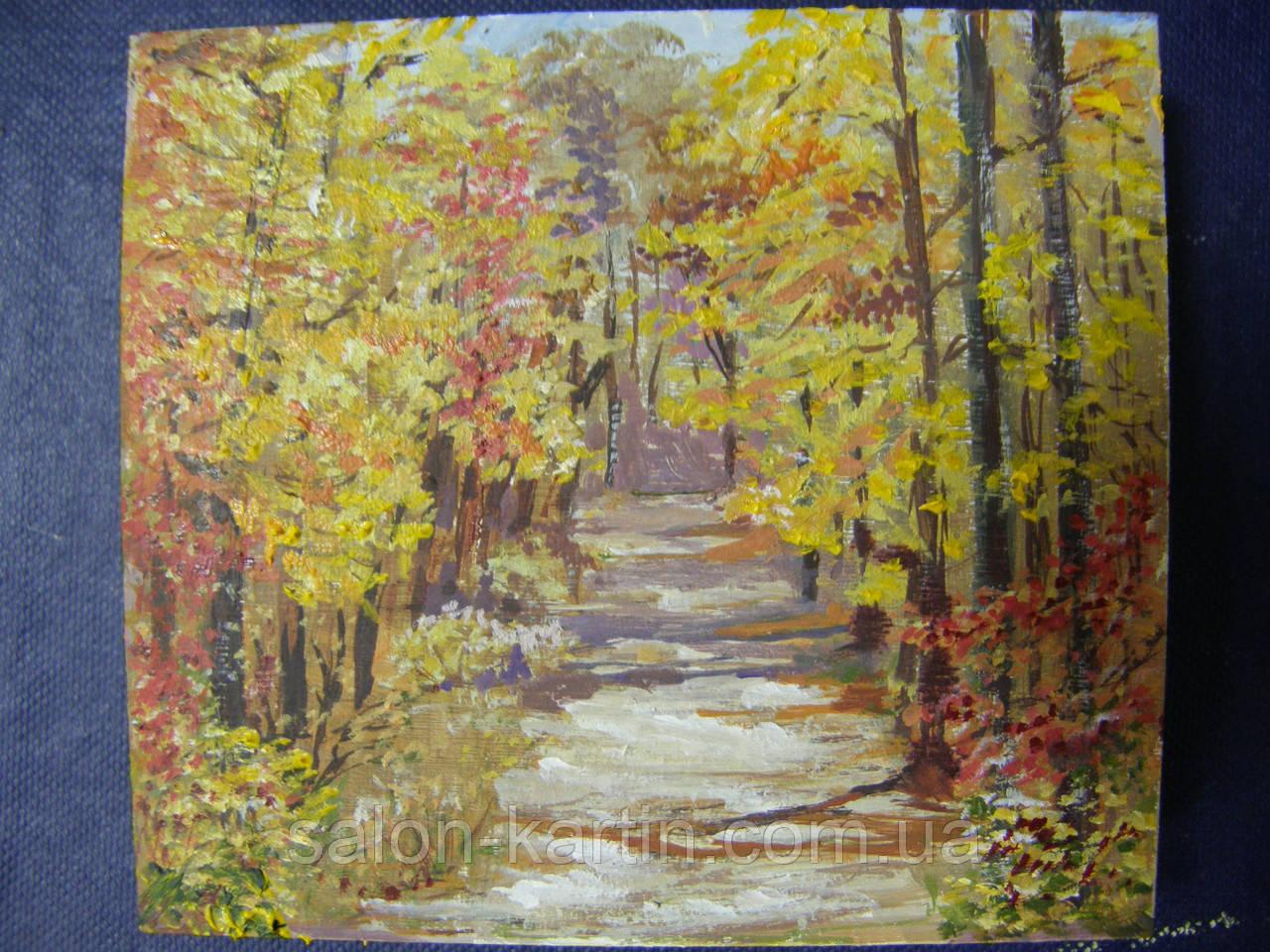 """Картина-миниатюра """"Осень"""""""