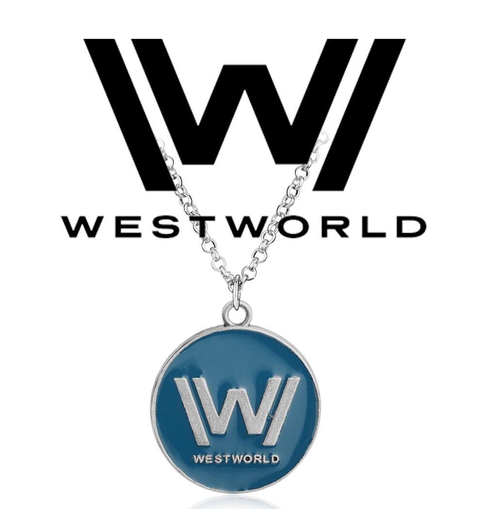 Кулон Westworld с логотипом сериала