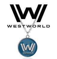 Кулон Westworld с логотипом сериала, фото 1