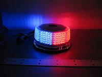 Проблесковый маячок Federal LED - 803 спецсигнал красно синий, фото 1