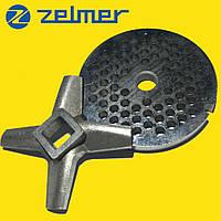 ➜ Нож и решетка для электромясорубки Zelmer №8