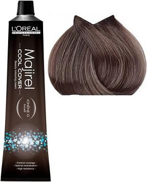 Cтойкая крем-краска для волос 50 мл L'Oreal Professionnel Majirel Cool Cover СС 7.18 Блондин пепельный мокка