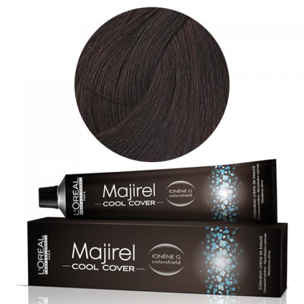 Cтойкая крем-краска для волос 50 мл L'Oreal Professionnel Majirel Cool Cover СС 6.1 темный блондин пепельный