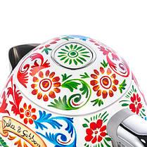 Чайник Smeg KLF03DGEU D&G Dolce Gabbana, фото 2