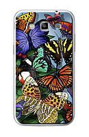 Чехол для Samsung Galaxy Win i8552 (тропические бабочки)