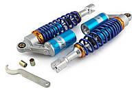 Амортизаторы Viper Storm 320 мм газомаслянные NET синие