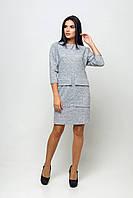 Платье Джорджия серый КПД 1412, фото 1