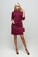 Сукня Джорджія бордо ККД 1411, фото 1