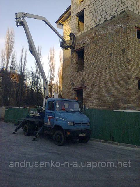 Автовышка – строители
