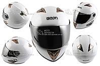Шлем-интеграл BEON B-500 белый