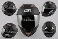 Шлем-интеграл BEON B-500 черный мат