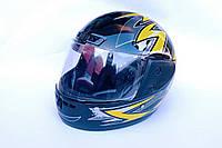 Шлем-интеграл FXW №-825 XL черно-желтый