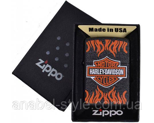Зажигалка бензиновая Zippo HARLEY-DAVIDSON в подарочной упаковке №4739-1 Код 118576, фото 2