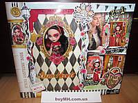 Набор Ever After High Lizzie Hearts Spring Unsprung Book Playset Лиззи Хартс и книга Несдержанная весна
