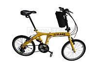 """Велосипед складной 20"""" VLAND желтый"""