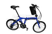 """Велосипед складной 20"""" VLAND синий"""
