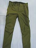 Костюм утепленный серии Антитеррор (Куртка и брюки) из ткани совтшел олива, фото 9