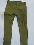 Костюм утепленный серии Антитеррор (Куртка и брюки) из ткани совтшел олива, фото 6