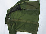 Костюм утепленный серии Антитеррор (Куртка и брюки) из ткани совтшел олива, фото 3