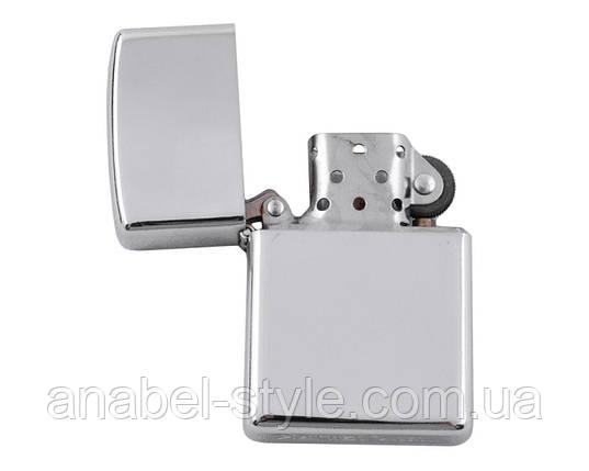 Зажигалка бензиновая настольная (Подарочная) №2120 Ср. (110х75х25 мм) Код 119901, фото 2