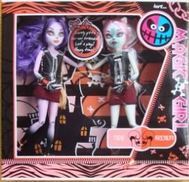 Кукла 2012-1 MH, шарнирная, 2 шт, в кор-ке, 29-28-6см