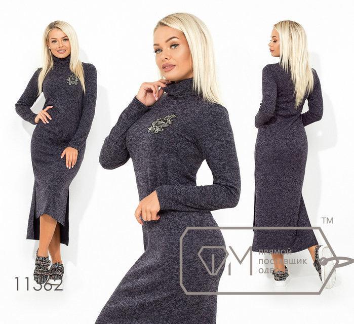 Модное ангоровое платье раз.42,44,46
