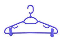 Вешалка для одежды с прищепками