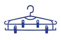 Вешалка с прищепками для одежды