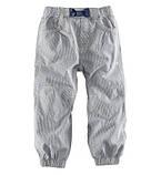 Стильные брючки Pullon бело-синие полосатые H&M, фото 2