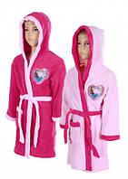 Махровый халат для девочек Disney оптом, 3-8 лет.