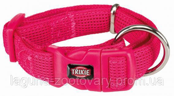 ТХ-16448  Ошейник Comfort Soft для собак дышащий, нейлон, XS–S  22–35см/20мм, фуксия