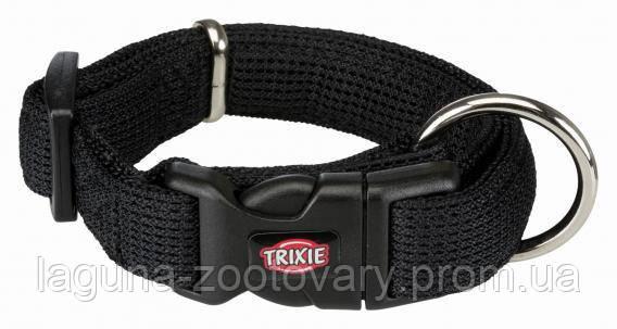ТХ-16441 Ошейник Comfort Soft для собак дышащий, нейлон, XS–S  22–35см/20мм, черный