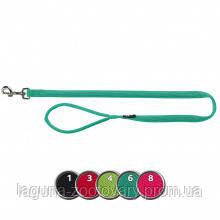 ТХ-16384 Поводок Comfort Soft для собак дышащий, нейлон, M–L  1.00м/20мм, ярко-зелёный