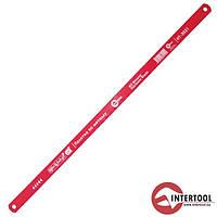 Полотно по металу InterTool 300х12,5х0,62мм, 24T, M2, Bimetal
