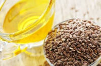 Лляна олія знижує рівень холестерину. Властивості лляного масла?