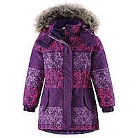 Зимняя куртка-парка для девочек Lassie 721736-5581. Размеры 92-110., фото 1