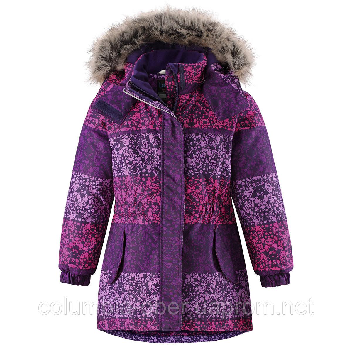 Зимняя куртка-парка для девочек Lassie 721736-5581. Размеры 92-110.