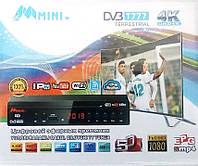 Цифровой эфирный тюнер T2  + IPTV + YouTube + WIFI + 4k