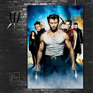 Постер Логан и команда Людей-Икс. Размер 60x42см (A2). Глянцевая бумага