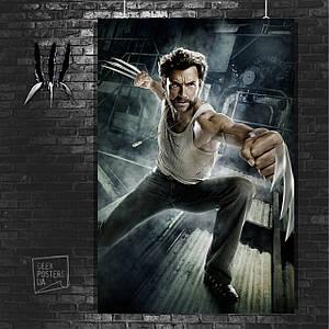 Постер Росомаха, Логан, The Wolverine. Размер 60x42см (A2). Глянцевая бумага