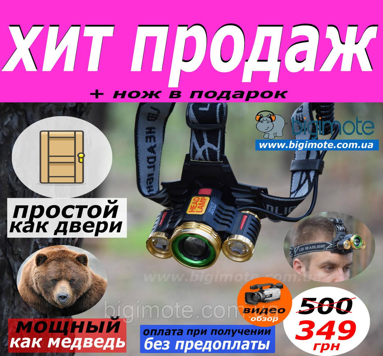 Налобный фонарь,+Видео Обзор,Налобный фонарик,налобник,фонарь на лоб,лобный фонарь,TT-539 Cree XML-T6