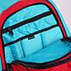 Стильный мужской городской рюкзак Dakine Factor 20L Threedee 610934843163 красный, фото 4