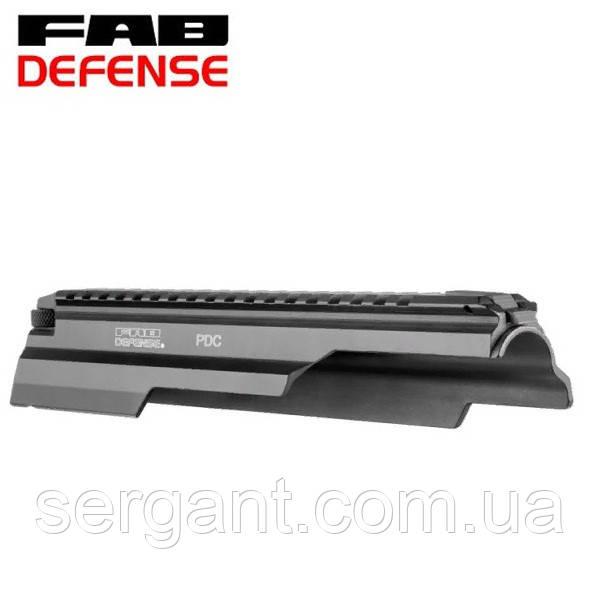 Крышка ствольной коробки Fab Defense PDC (Израиль) с планкой Вивер/Пикатинни для АК