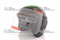 Шлем-полулицевой BLD/F2 №-207 Хищник черный