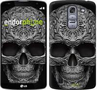 """Чехол на LG G Pro 2 D838 skull-ornament """"4101u-375-601"""""""