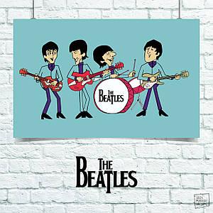 Постер Beatles, Битлз (60x102см)