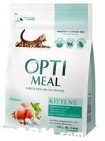 OPTIMEAL сухий корм для котів - курка 4 кг