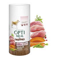 OPTIMEAL Беззерновий сухий корм для собак усіх порід - індичка та овочі 1,5 кг